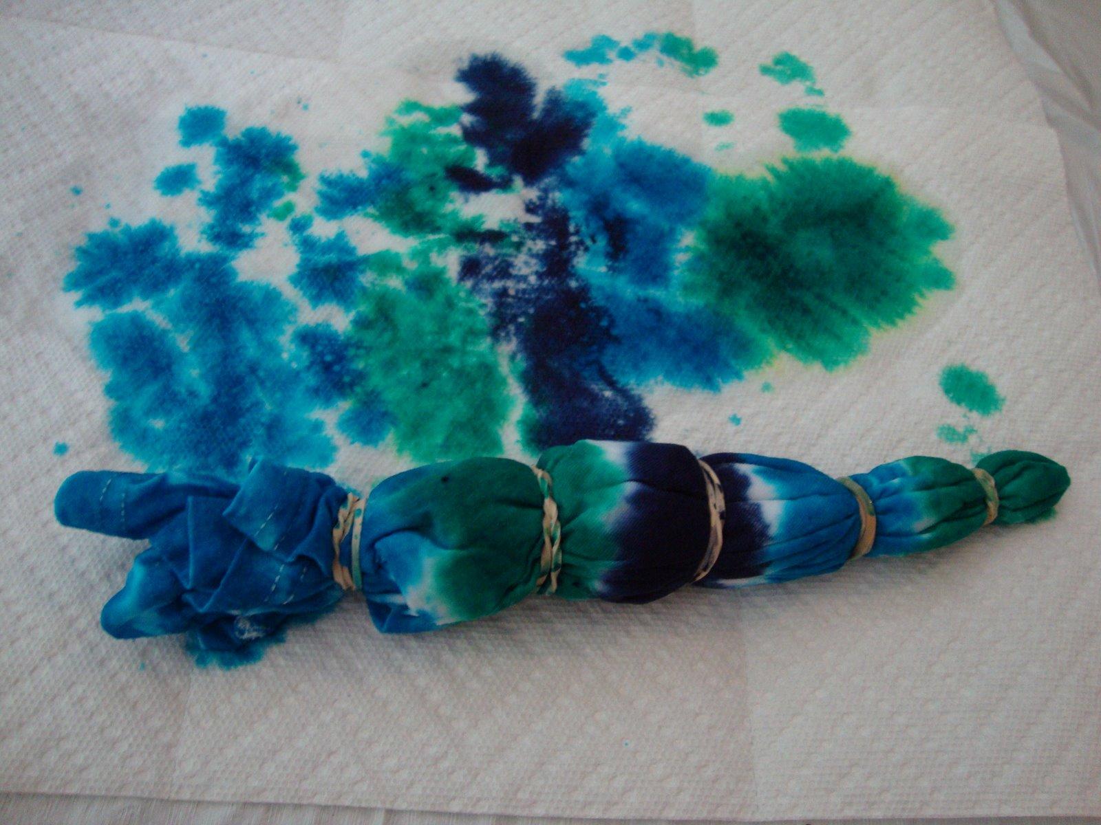 Tie dye shirts deep fried kudzu for How to make tie dye shirts at home
